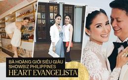 """""""Crazy Rich Asians"""" nguyên mẫu Heart Evangelista: Diễn viên đẹp nhất Philippines thành Phu nhân Thượng nghị sĩ và cuộc đời sóng gió của giới siêu giàu"""