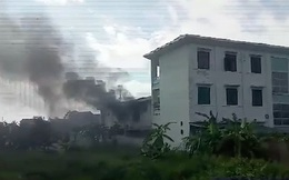 Hà Nội: Tầng 2 trường mầm non bất ngờ bốc cháy ngày nghỉ