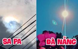 """Hiếm hoi lắm mới xuất hiện tại Việt Nam, đây là hiện tượng nhật thực """"vòng lửa"""" được dân mạng từ khắp nơi chụp lại được trong chiều nay"""