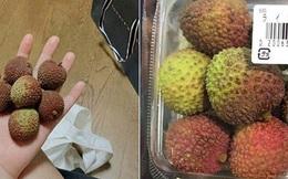 """Dân mạng Việt khoe những trái vải bán trong siêu thị Nhật, 120k được mỗi 7 quả mà vẫn """"cháy hàng"""""""