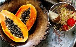 """Đu đủ là """"kho báu"""" từ thịt đến hạt nhưng hãy chú ý đến 3 điểm khi ăn để tránh đầu độc cơ thể, thậm chí là vô sinh"""
