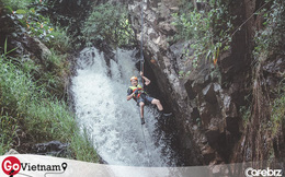"""Một Đà Lạt khác thường: Tour vượt thác 6 levels không dành cho người """"yếu tim"""", khám phá thiên nhiên hùng vĩ"""