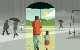 Trời nắng cho người mượn mái hiên tá túc; trời mưa mới dễ mượn dù: Sống trên đời, nên chừa đường lui cho mình!