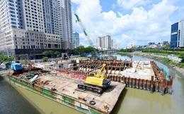 Dự án chống ngập 10.000 tỷ tại TP.HCM lùi thời hạn hoàn thành vào tháng 12 tới