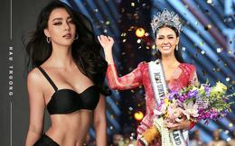 """Tân Hoa hậu Hoàn vũ Thái Lan: """"Bông hồng lai"""" nóng bỏng, học vấn đáng nể, vừa đăng quang đã được dự đoán là ứng cử viên sáng giá của Miss Universe"""