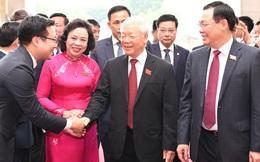 Tổng Bí thư, Chủ tịch nước Nguyễn Phú Trọng dự và chỉ đạo Đại hội Đảng bộ TP Hà Nội XVII