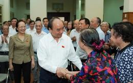 Chùm ảnh: Thủ tướng Nguyễn Xuân Phúc tiếp xúc cử tri Hải Phòng