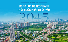 Động lực để trở thành một nước phát triển vào 2045
