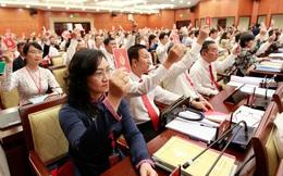 Hình ảnh phiên trù bị Đại hội Đảng bộ TP HCM lần thứ XI