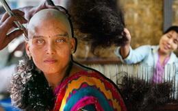 """Hàng năm có hơn 42 triệu tấn tóc phụ nữ được bán cho dân buôn """"vàng đen"""", rốt cuộc đó là gì mà khiến phái đẹp chấp nhận cắt tóc, cạo đầu?"""