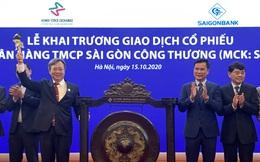 Hôm nay 15/10, cổ phiếu SGB của Saigonbank chính thức giao dịch trên sàn UPCoM