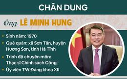 [Infographic]: Chân dung Thống đốc Lê Minh Hưng làm Chánh Văn phòng Trung ương Đảng