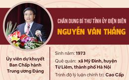 [Infographic]: Chân dung tân Bí thư Tỉnh ủy Điện Biên Nguyễn Văn Thắng