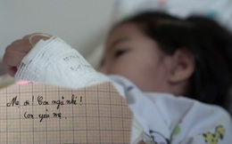 """""""Mẹ ơi, con ngủ nhé!"""" lời nhắn cuối cùng của em bé bị ung thư và hành trình 5 tháng chiến đấu với căn bệnh quái ác khiến ai đọc nước mắt cũng tuôn rơi"""