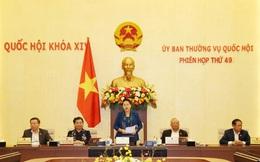 Bế mạc Phiên họp thứ 49 Ủy ban Thường vụ Quốc hội
