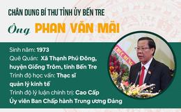 [Infographic]: Chân dung Bí thư Tỉnh ủy Bến Tre Phan Văn Mãi