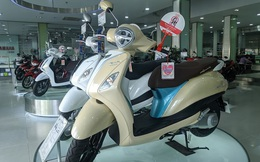 'Ngấm đòn' COVID-19, thị trường xe máy sụt giảm mạnh