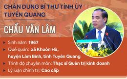 [Infographic]: Chân dung Bí thư Tỉnh ủy Tuyên Quang Chẩu Văn Lâm