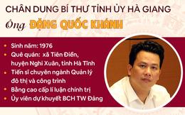[Infographic]: Chân dung Bí thư Tỉnh ủy Hà Giang Đặng Quốc Khánh