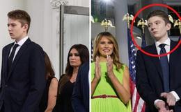 """""""Hoàng tử Nhà Trắng"""" Barron Trump: Xuất thân hơn người, học cực giỏi nhưng lý do ánh mắt luôn buồn bã khiến ai cũng thương cảm"""