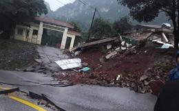 Quảng Bình: Sạt ở núi kinh hoàng, vùi lấp đồn biên phòng và xé toác QL 12A