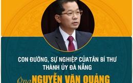 Chân dung và con đường sự nghiệp tân Bí thư Đà Nẵng Nguyễn Văn Quảng