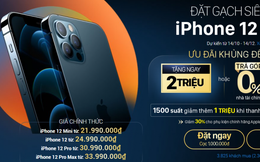 Nhiều hệ thống giảm giá iPhone 12 dù chưa được bán ra