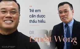 Dr Ernest Wong: Giấc mơ của tôi là mentor thành công cho 1.000 triệu phú tự thân trước tuổi 30, với nhiều bạn trẻ Việt Nam