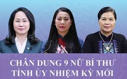 Chân dung 9 nữ Bí thư Tỉnh ủy nhiệm kỳ 2020 - 2025