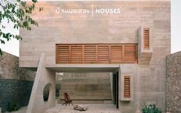 """Ngôi nhà """"khỏa thân"""" có hình dáng kỳ lạ ở Mexico"""