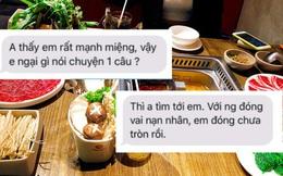 """BIẾN CĂNG: Khách ăn buffet bị phạt 200k tung toàn bộ tin nhắn, netizen sốc vì câu nói """"em rất mạnh miệng vậy ngại gì không nói chuyện 1 câu"""""""