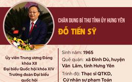 Infographic: Chân dung Bí thư Tỉnh ủy Hưng Yên Đỗ Tiến Sỹ
