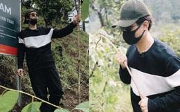 Hà Anh Tuấn cùng công ty trồng 1800 cây rừng giúp người dân chống lũ
