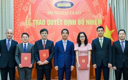 Bộ Ngoại giao bổ nhiệm cán bộ cấp Vụ