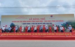 Khởi công tuyến cao tốc Đồng Đăng - Trà Lĩnh tổng vốn đầu tư gần 21.000 tỉ đồng