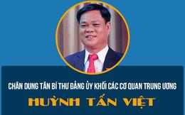 Infographic: Chân dung tân Bí thư Đảng ủy Khối các cơ quan Trung ương Huỳnh Tấn Việt