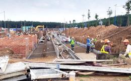 Giá đất tăng, các dự án gặp khó