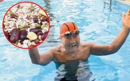 """99 tuổi vẫn bơi """"sương sương"""" 15km không cần nghỉ, bác sĩ chia sẻ 3 bí quyết sống lâu tránh xa bệnh tật"""