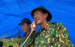 Thiếu tướng Nguyễn Đình Tiến: Dốc toàn lực tìm nạn nhân bị vùi lấp