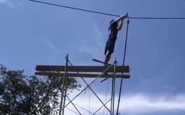 Kê giàn giáo lên cắt dây điện 220kv vì… đi ngang qua nhà