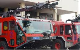 Cận cảnh dàn xe đặc chủng triệu đô tại phi trường Tân Sơn Nhất