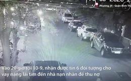 [VIDEO] Cảnh sát hình sự TP HCM chặn xe bắt nóng nhóm giang hồ cho vay nặng lãi