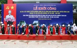 Hà Nội khởi công tuyến đường gom và kè sông đào Nguyên Khê cùng hai công trình hạ tầng tại Đông Anh