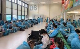 Hai chuyến bay đưa hơn 350 công dân Việt Nam từ Đài Loan (Trung Quốc) về nước