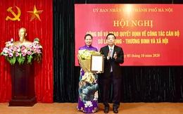 Trao quyết định bổ nhiệm bà Bạch Liên Hương làm Giám đốc Sở LĐTB&XH Hà Nội