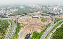 Cận cảnh công trình kết nối vành đai 3 với cao tốc Hà Nội - Hải Phòng