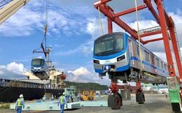 Toa tàu Metro số 1 đã đến TP HCM