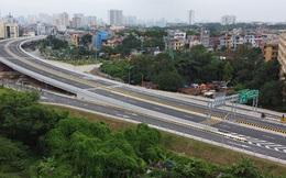 Mục sở thị Vành đai 3 trên cao đẹp nhất Hà Nội đoạn Mai Dịch - Nam Thăng Long trước giờ thông xe