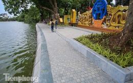 Diện mạo hồ Hoàn Kiếm sau 5 tháng chỉnh trang