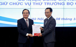 Công bố Quyết định bổ nhiệm Thứ trưởng Bộ GDĐT Hoàng Minh Sơn